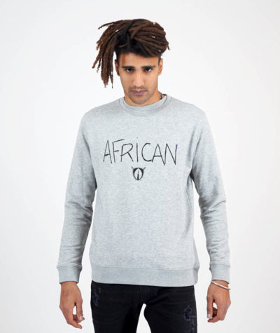 sweat african gris