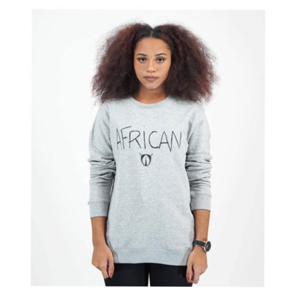 Sweat African (gris) - AFRICAN ARMURE