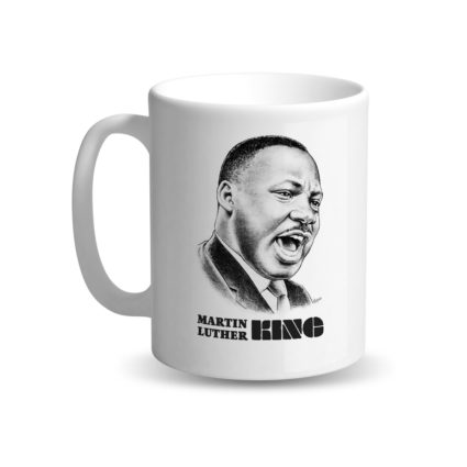 "Mug ""Martin Luther King"" - NOIR & FIER"