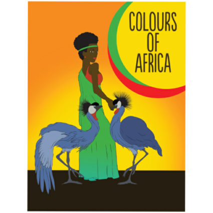 Colours of Africa - Médiatrice MUJAWAMARIYA