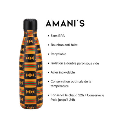 Bouteille Isotherme - AMANI'SKente