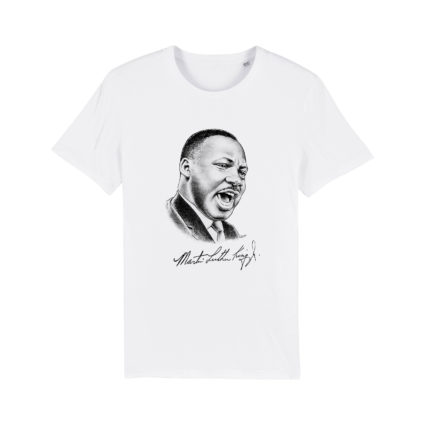T-shirt collection signature Martin Luther King Jr.